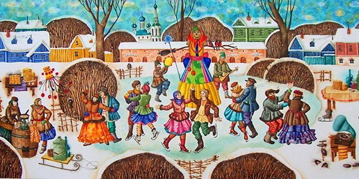 Основные праздники в россии