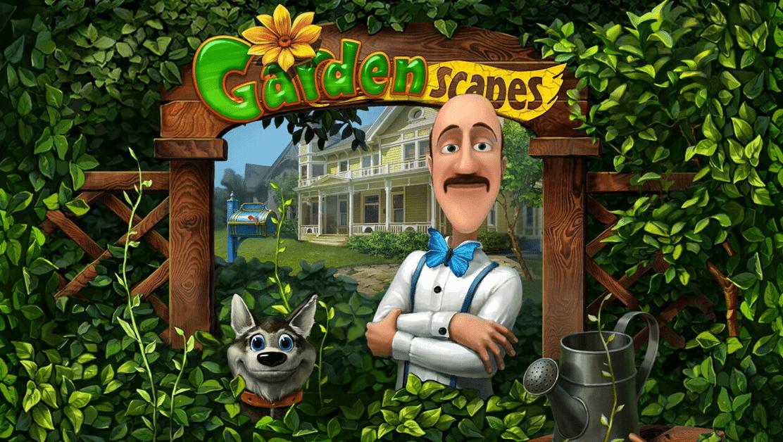 GardenScapes построй сад своей мечты