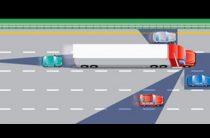 Мертвая зона грузовика или фуры