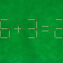 Игра «Задачи со спичками» с ответами 21-40 уровни